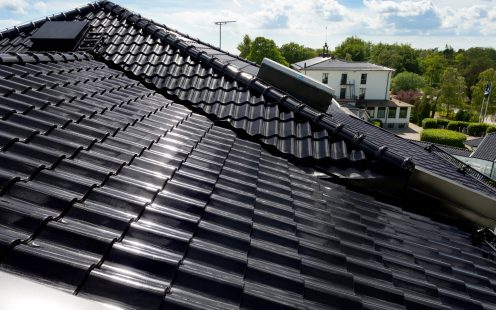 SPA in Ystad, Roof, Madura Black Glased 738