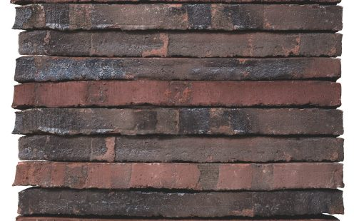 Facade brick - Roed Rustik Special LF - Imported to and photographed in DK