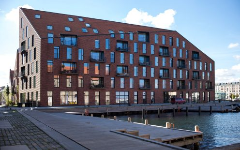 Apartment Building at Christianshavn, Copenhagen, Cladding tile, Urban - Christianshavn